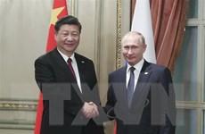 'Sự phát triển quan hệ Trung Quốc-Nga đang có triển vọng tươi sáng'