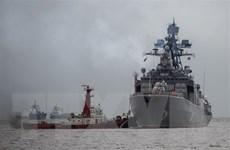 Tăng cường lòng tin, Nga và Ấn Độ tập trận chung trên biển