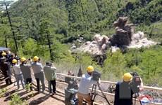 38 North: Khả năng bãi thử hạt nhân của Triều Tiên chưa bị phá bỏ