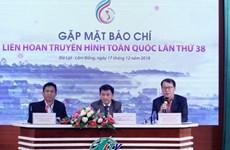 Liên hoan Truyền hình toàn quốc lần thứ 38 tại thành phố Đà Lạt