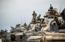 SOHR: Thổ Nhĩ Kỳ điều quân tiếp viện tới miền Bắc Syria