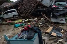 [Video] Bãi biển Anyer hoang tàn sau thảm họa sóng thần