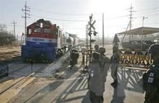LHQ miễn trừ trừng phạt lễ khởi công dự án kết nối liên Triều