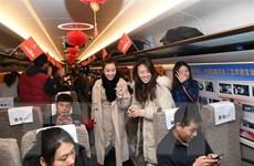 Trung Quốc vận hành tuyến đường sắt cao tốc phủ sóng mạng 4G