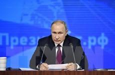 Nga bác bỏ tin Tổng thống Vladimir Putin rút khỏi Diễn đàn Davos