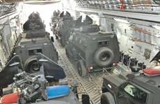 Quân đội Qatar tiến hành điều 24 xe thiết giáp tới Mali