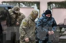 Nga bác bỏ đề nghị của châu Âu trả tự do cho các thủy thủ Ukraine