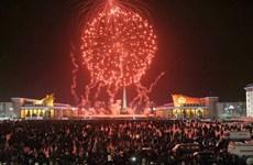 [Video] Người dân Triều Tiên hân hoan đón chào Năm mới 2019