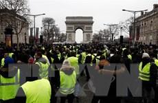 """Cảnh sát Pháp đã bắt giữ thủ lĩnh """"Áo vàng"""" Eric Drouet"""