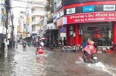 Nhiều khu vực trên địa bàn tỉnh Bạc Liêu ngập nặng do bão số 1