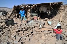 Động đất mạnh 5 độ phá hủy nhiều ngôi nhà ở miền Nam Peru