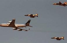 Iran phô trương sức mạnh của lực lượng không quân trong buổi tập trận