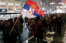 Hàng nghìn người dân Serbia biểu tình phản đối Tổng thống Vucic