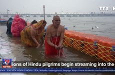 [Video] Hàng triệu người tham gia lễ hội tôn giáo lớn nhất thế giới