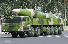 Trung Quốc phát thông điệp tới Mỹ bằng hình ảnh tên lửa đạn đạo DF-26
