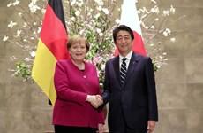Nhật Bản và Đức cam kết thúc đẩy hợp tác kinh tế song phương