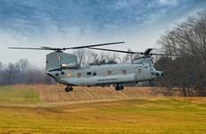 Boeing bàn giao 4 trực thăng Chinook đầu tiên cho Không quân Ấn Độ