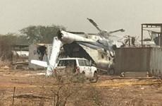Trực thăng quân sự của Liên hợp quốc chở 23 binh sỹ Ethiopia gặp nạn