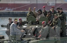 Quân đội Venezuela bắt đầu cuộc tập trận lớn kéo dài 6 ngày