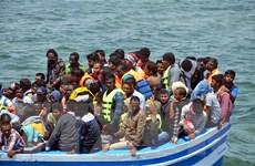 Dòng người di cư từ châu Phi tiếp tục vượt biển qua Libya