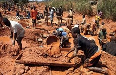 Ngập mỏ khai thác vàng ở Zimbabwe, hàng chục người mất tích