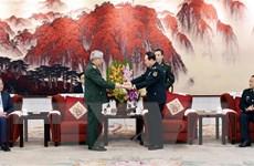 Việt Nam-Trung Quốc không ngừng tăng cường hợp tác quốc phòng