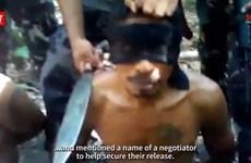 Nhóm Abu Sayyaf dọa chặt đầu con tin người Malaysia và Indonesia