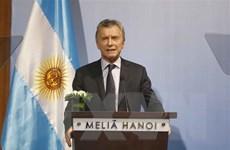 Tổng thống Macri: Việt Nam là đối tác quan trọng của Argentina