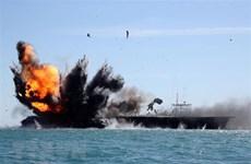 Iran tiến hành tập trận hải quân quy mô lớn ở vùng Vịnh