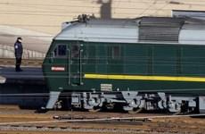 Yonhap: Đoàn tàu của Chủ tịch Triều Tiên Kim Jong-un đã tới Trung Quốc