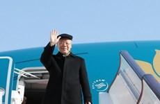 Campuchia đưa tin đậm nét chuyến thăm của Tổng Bí thư, Chủ tịch nước