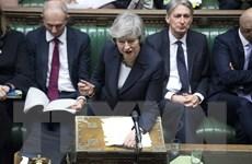 Thủ tướng Anh Theresa May tuyên bố lùi thời gian bỏ phiếu tại hạ viện
