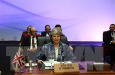 Thủ tướng Anh Theresa May bác bỏ thông tin sẽ từ chức sau Brexit
