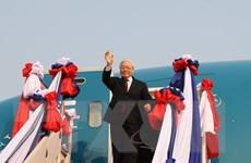 Tạo động lực thúc đẩy toàn diện quan hệ với Lào và Campuchia