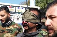 Pakistan công bố hình ảnh về một phi công Ấn Độ bị bắt giữ