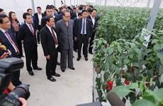 [Video] Đoàn lãnh đạo cấp cao Triều Tiên thăm VinFast và VinEco