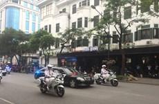 Thay đổi lịch trình, lãnh đạo hai nước di chuyển về khách sạn
