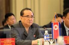 Hình ảnh đoàn đại biểu cấp cao Triều Tiên thăm, làm việc tại Hải Phòng