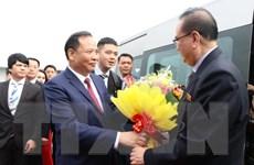Hình ảnh đoàn đại biểu Đảng Lao động Triều Tiên thăm tỉnh Hải Dương