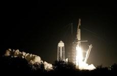 Space X phóng thành công tàu vũ trụ không người lái Crew Dragon