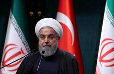 Tổng thống Iran Hassan Rouhani cáo buộc Mỹ tìm cách thay đổi chế độ