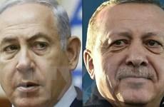 Tổng thống Thổ Nhĩ Kỳ và Thủ tướng Israel khẩu chiến dữ dội