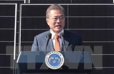 Tỷ lệ ủng hộ Tổng thống Hàn Quốc Moon Jae-in thấp kỷ lục