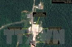 Hàn Quốc: Triều Tiên có thể chuẩn bị tháo dỡ bãi phóng tên lửa