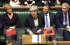 Thủ tướng Anh Theresa May đàm phán với DUP về thỏa thuận Brexit