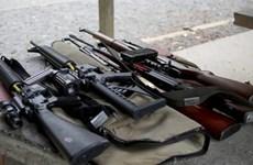 Người dân New Zealand bắt đầu giao nộp vũ khí cho chính phủ