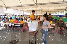 Thái Lan: Các chính đảng nỗ lực vận động cử tri vào phút chót