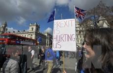 Anh: Hàng trăm nghìn người tuần hành phản đối Brexit tại London