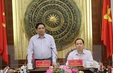 Ông Phạm Minh Chính lưu ý Thanh Hóa cải thiện các chỉ số cạnh tranh