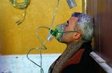 Syria: Quân nổi dậy nã pháo vào một ngôi làng, hàng chục người khó thở